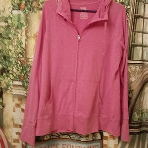** 3 FOR 10** Danskin pink zippered jacket